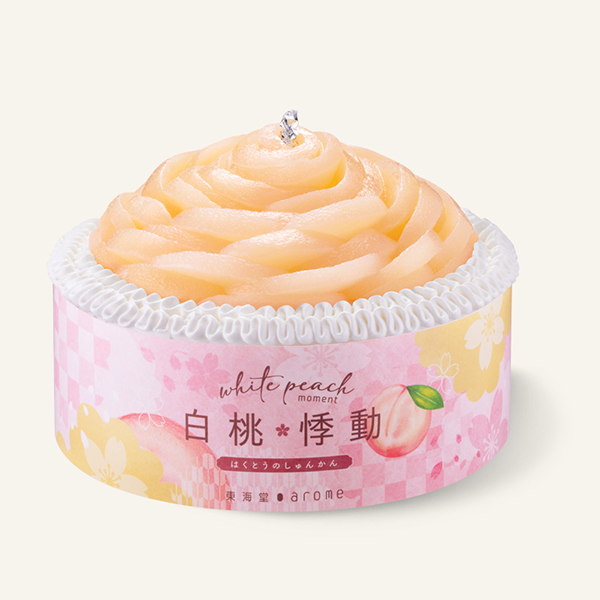 White Peach Cream Cake